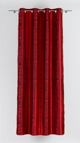 Перде Brooklyn 140х245 см, червено 5
