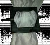 Магнит за перде квадрат кафяв