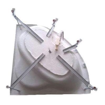 Метална опора за асиметрични вани Sanotechnik  L2100