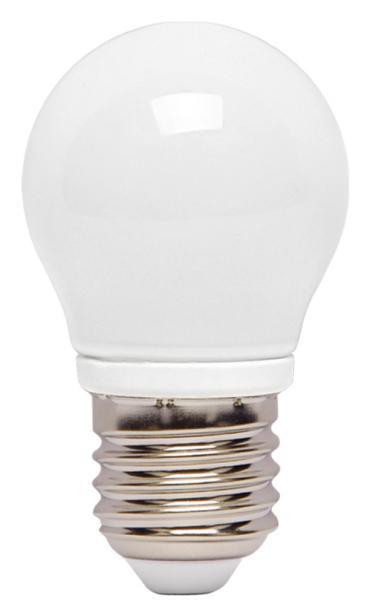 LED крушка стъкло 4W E27 P45 матирана 6000K