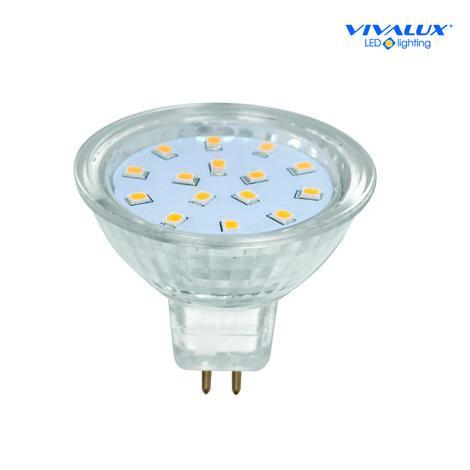 LED лампа 2,5W/Gx5,3/2700