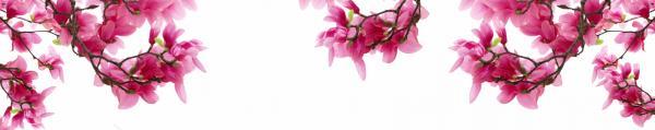 Принт гръб с цветя, код 04
