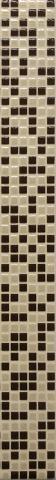 Декоративен фриз Native Bianco 5x40 см