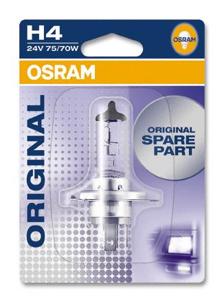 Aвт.лампа  H4 Osram 75/70W 24V