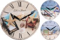 Стенен часовник 24 см диаметър