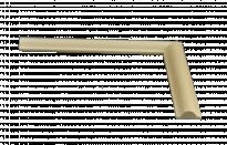 Покриваща лайсна 2 см х 0.8 см R от чам