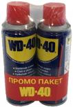 Промо пакет WD-40 мултифункционална смазка 200 мл 2 бр