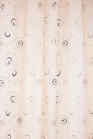 Перде Circles Sheer/280 brown-beige