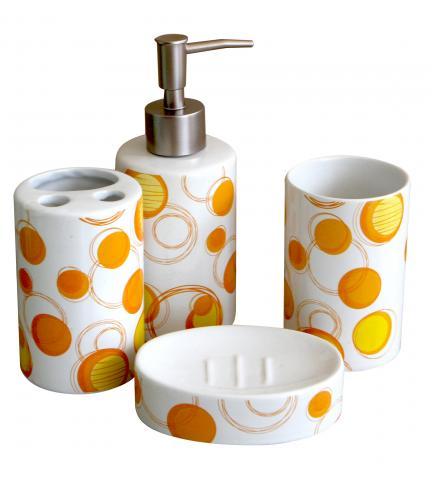 Комплект за баня 4 елемента, порцелан