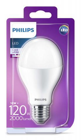 LED крушка 18.5W E27 4000K 2000Lm
