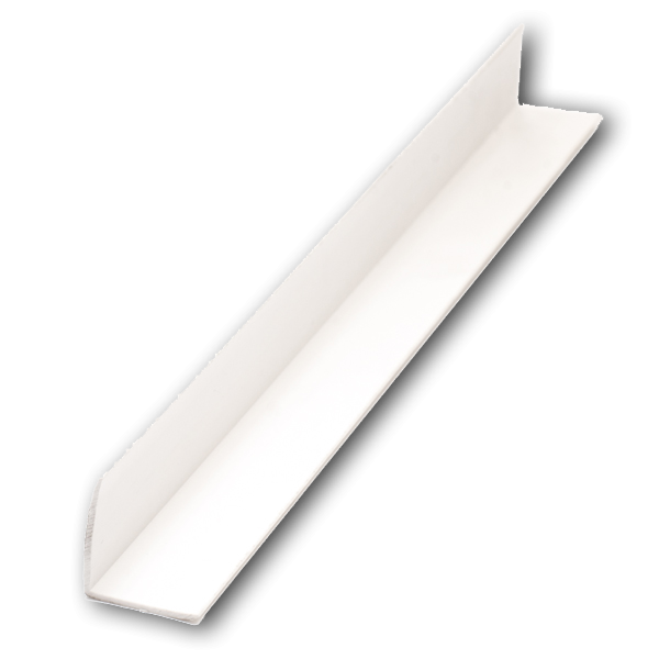L -профил 30х30 бял – 3 м
