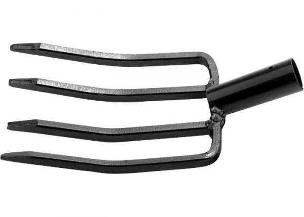 Вила Градинар, 4 рога, 185 х 370 мм, без дръжка