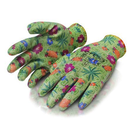 Градински ръкавици ERBA цветя