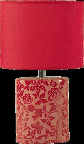 Баиа настолна лампа червена