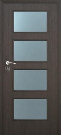 Интериорна врата Malaga 70х204 см. венге, лява