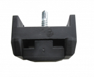 Комплект фиксатор за стълб 60/40 + самонарезен болт