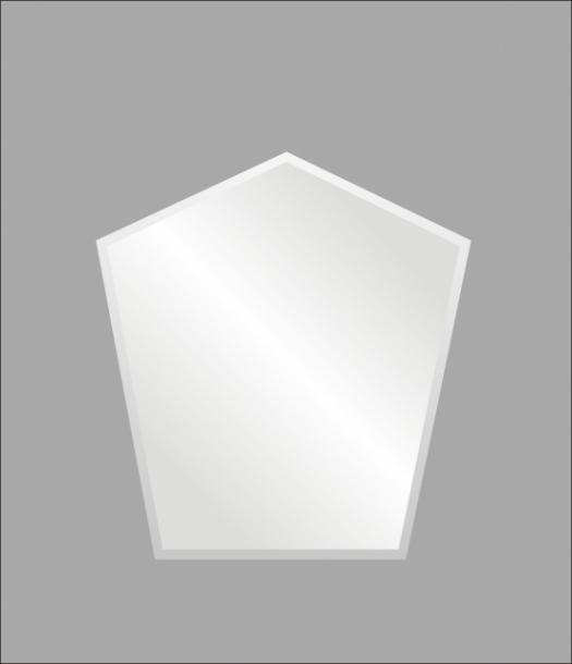 Огледало ''Ирис'' 50х70 петоъгълник