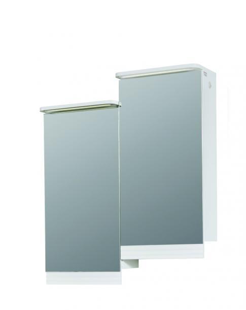 PVC  водоустойчив шкаф с огледало ПРИМАДОНА