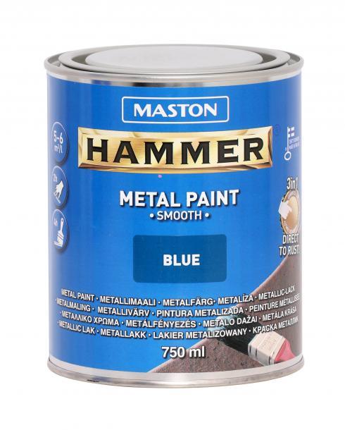Алкидна боя Maston 3в1 0.75л, синя