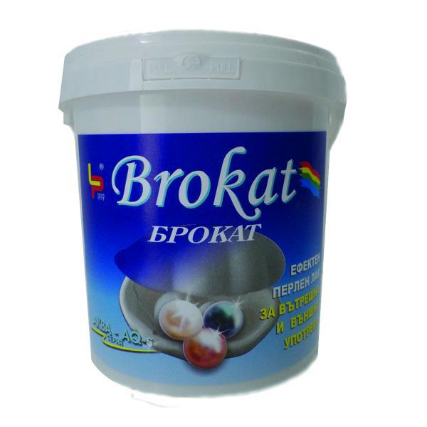 Eфектен лак Брокат 0.77л, Сребриста перла