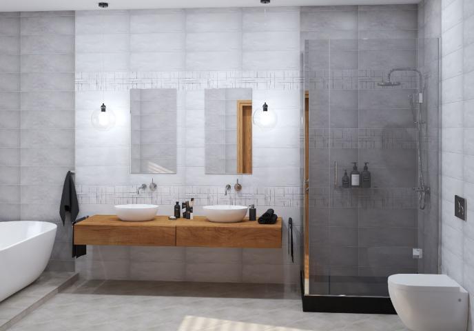 Декор Travis Blanco Decor 20x60 2