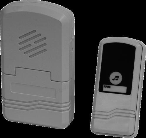 Звънец безжичен 3хАА 505