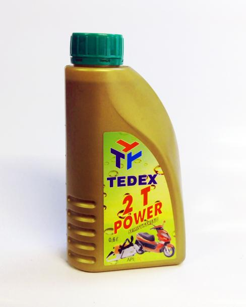 Двутактово масло Tedex 600 мл полу-синтетично