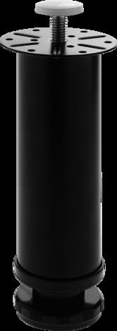 Метален крак 150x50 черен