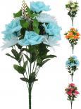 Изкуствен букет рози и гербер