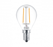 LED филамент балонче 2W/25W/ E14 WW 2700K