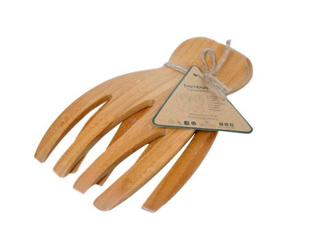 Бамбукови вилици за салата 2