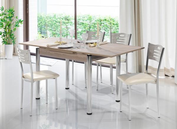 Комплект Поло маса + 4 стола, кордоба
