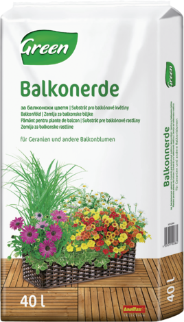 GV,Почва балконски цветя 40л
