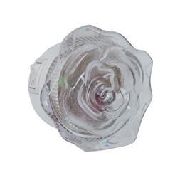 Нощна лампа Rose LED бяла