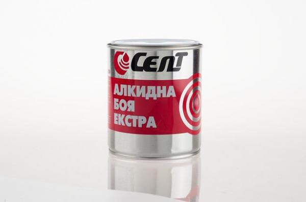 Алкидна боя  охра  0,7кг