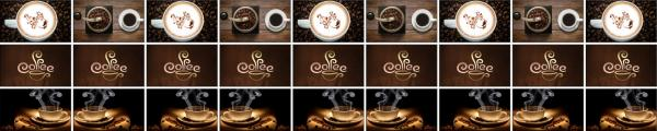 Принт гръб с кафе и напитки, код 044