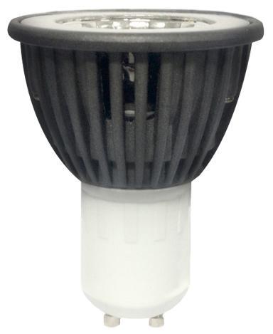 LED крушка 5W 220V  GU10 4000K  COB Alu