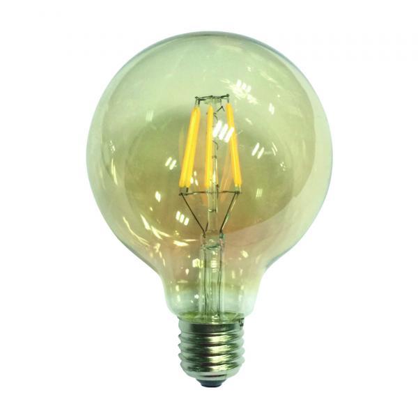 LED винтидж  крушка 6W E27 2700K dim
