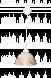 Пендел Н120/Ф240, бял/мед