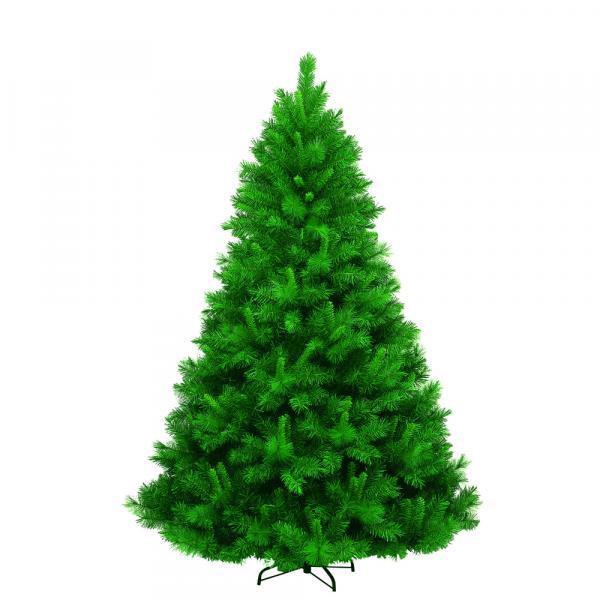 Изкуствена елха PVC зелена, гъста 210см