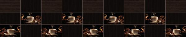 Принт гръб с кафе и напитки, код 01