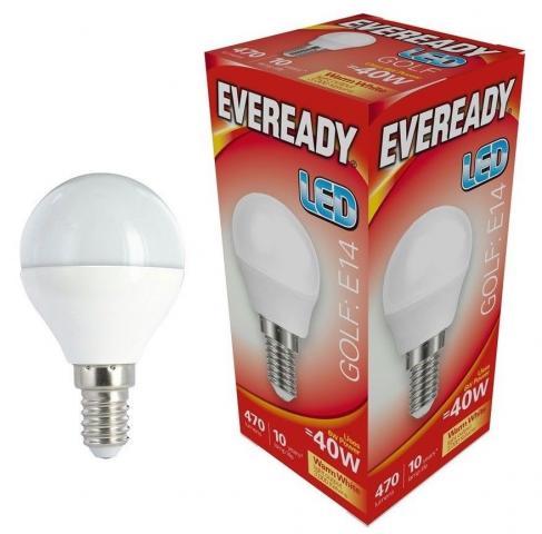 LED крушка балонче 6W E14 470LM 3000K