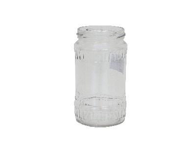 Буркан стъклен 370 мл. 9 бр