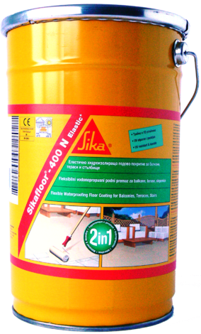 Еластична хидроизолация Сикафлор-400N+ Elastik, 6 кг