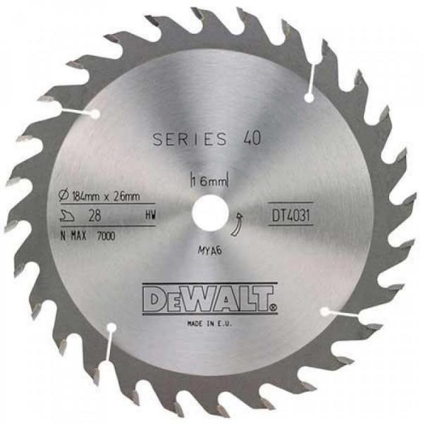 Циркулярен диск DT4031 DeWALT за дърво