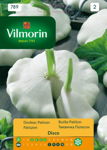 Тиквичка Patisson - Вилморин