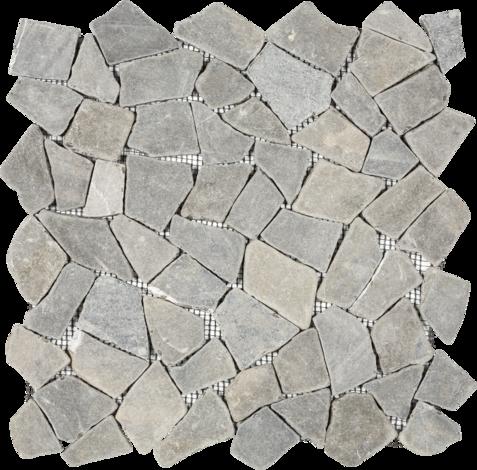 Моз. естествен камък т.сиво