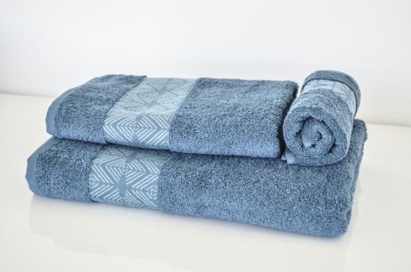 Хавлиена кърпа Ева 70х140 см - петрол