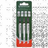 Комплект ножчета за прободен трион за дърво Status 3 бр