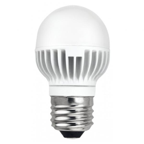 Led лампа 7W 220V E27 P45 4200K